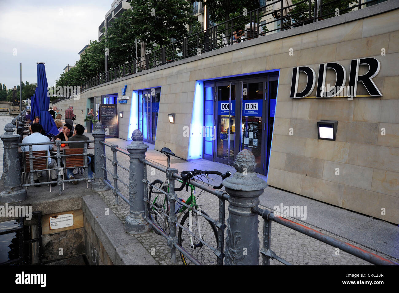 DDR Museum, museum of the GDR, on the Spree riverside, Mitte district of Berlin, Germany, Europe - Stock Image
