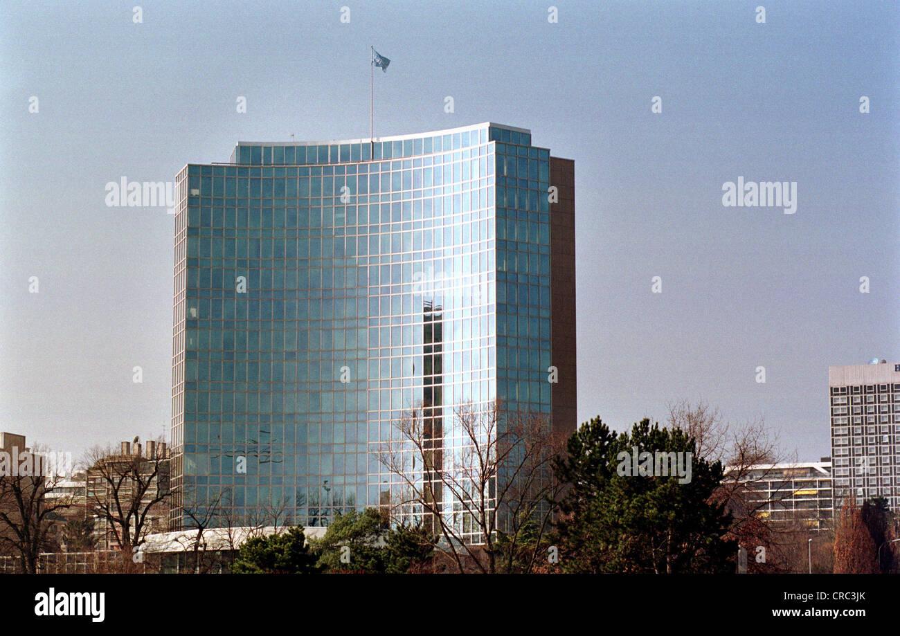 Headquarters of WIPO (World Intellectual Property Organisation) in Geneva, Switzerland Stock Photo