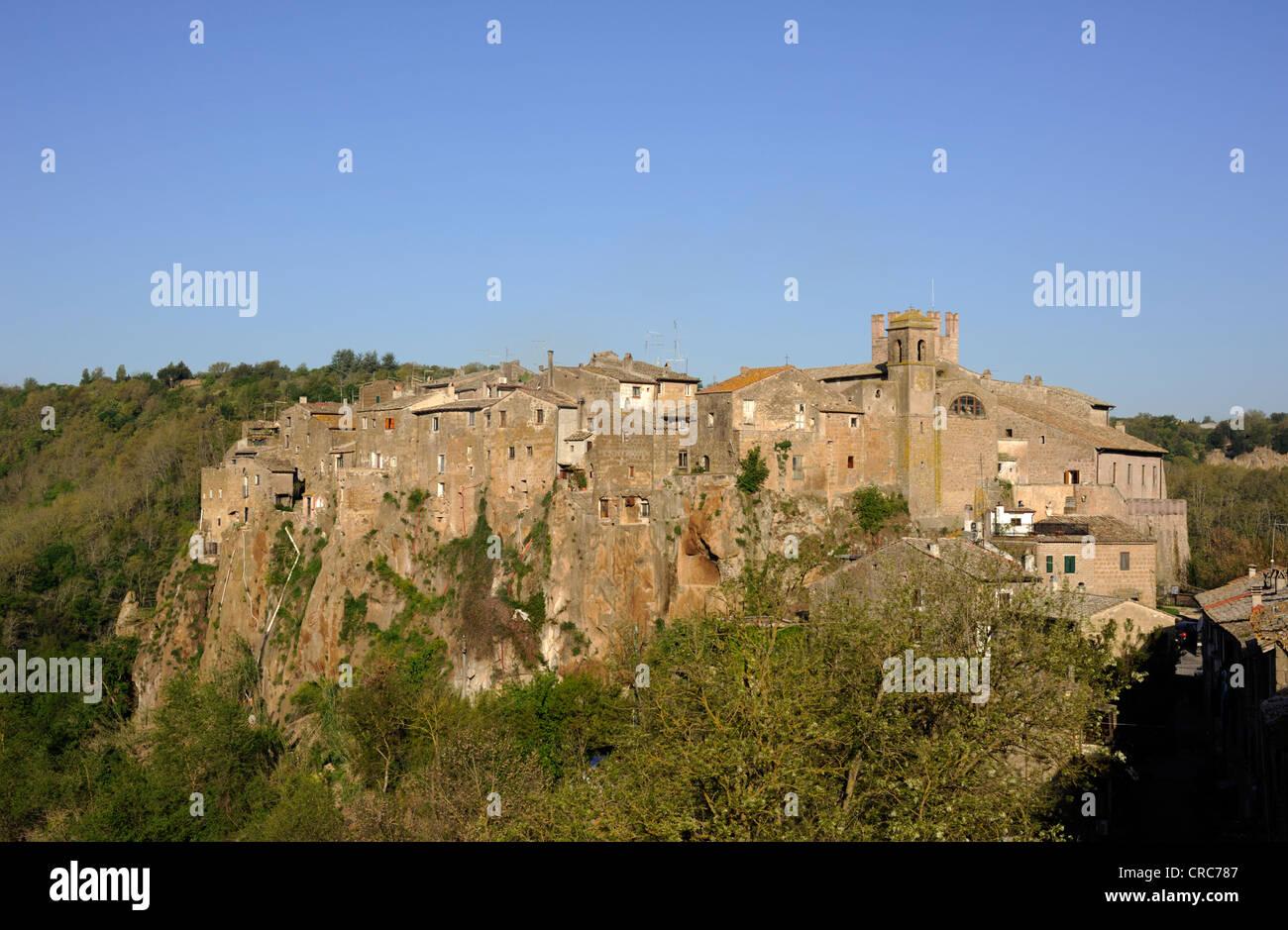 italy, lazio, calcata - Stock Image