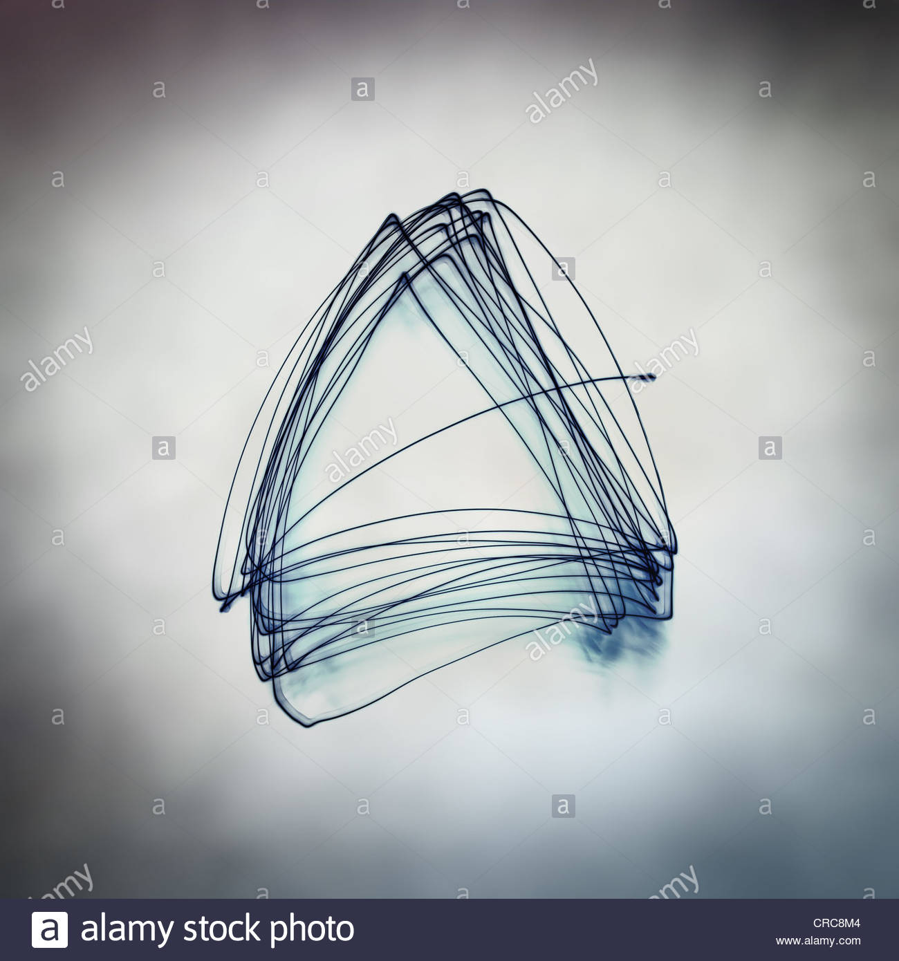 triangular abstract - Stock Image