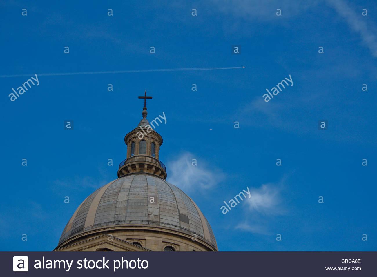 Pantheon Sorbonne, Paris, france, - Stock Image