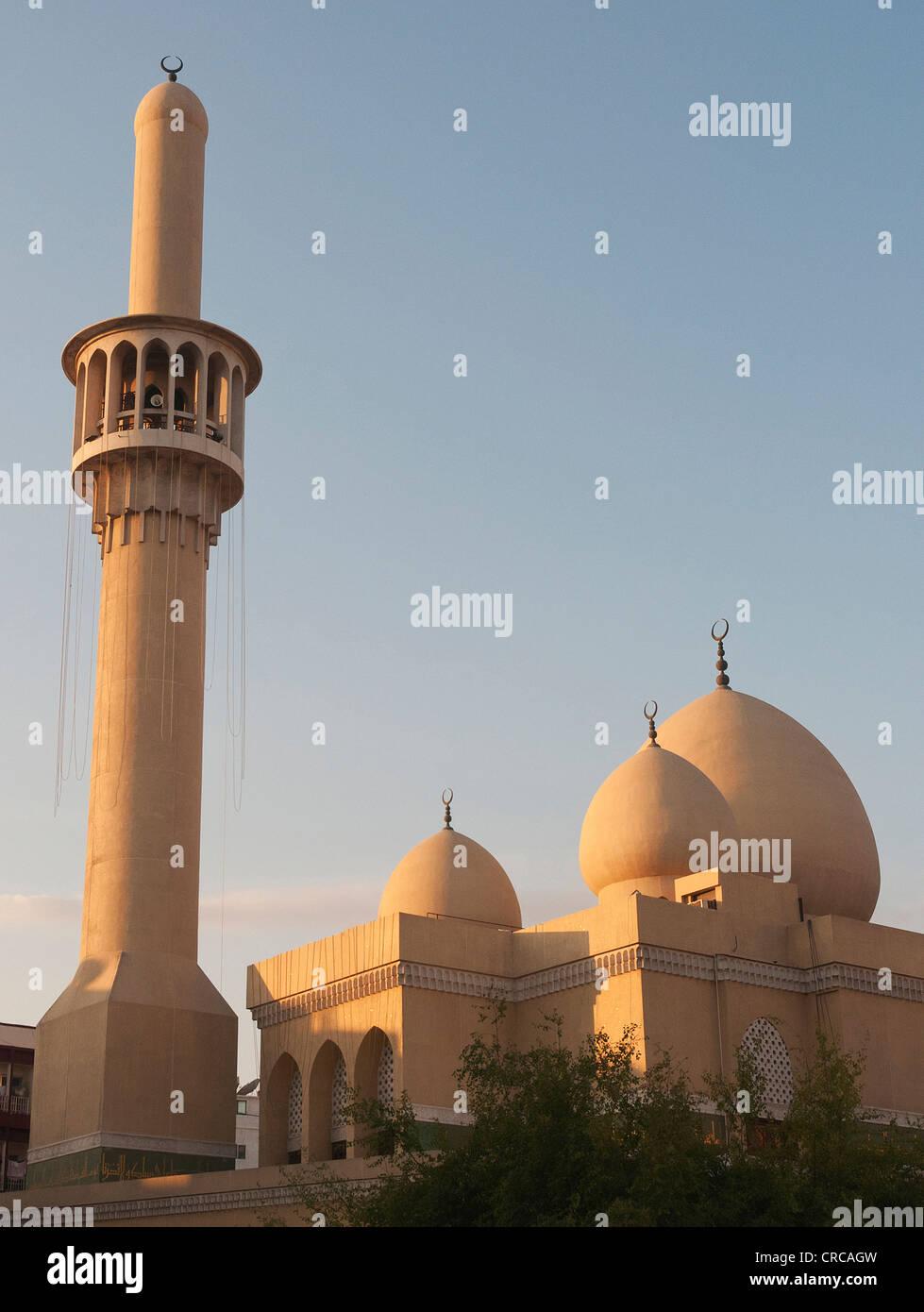 Elk206-2158v United Arab Emirates, Dubai, Bur Dubai, mosque - Stock Image