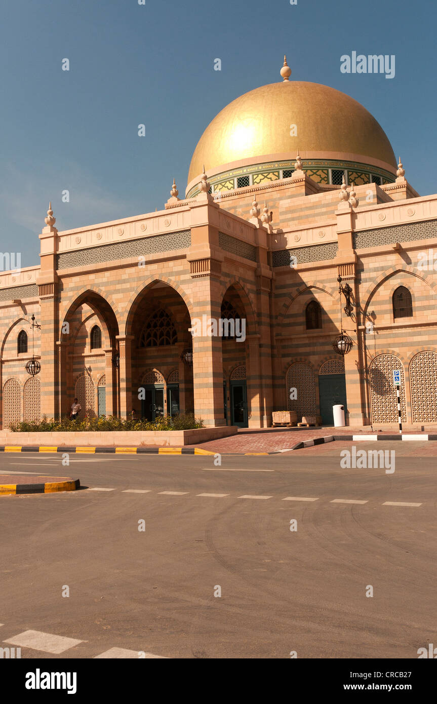 Elk206-3119 United Arab Emirates, Sharjah, Museum of Islamic Civilization, exterior - Stock Image