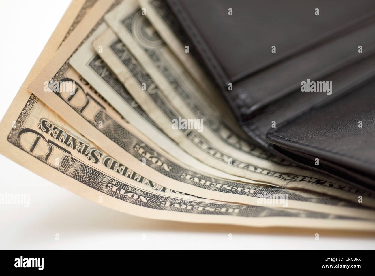 Dollar Bills, Notes, US Currency Dollars - Stock Image