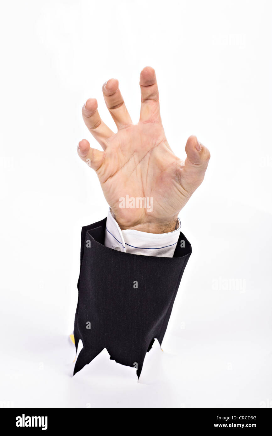 Symbolic picture for fighting against the bureaucracy Stock Photo