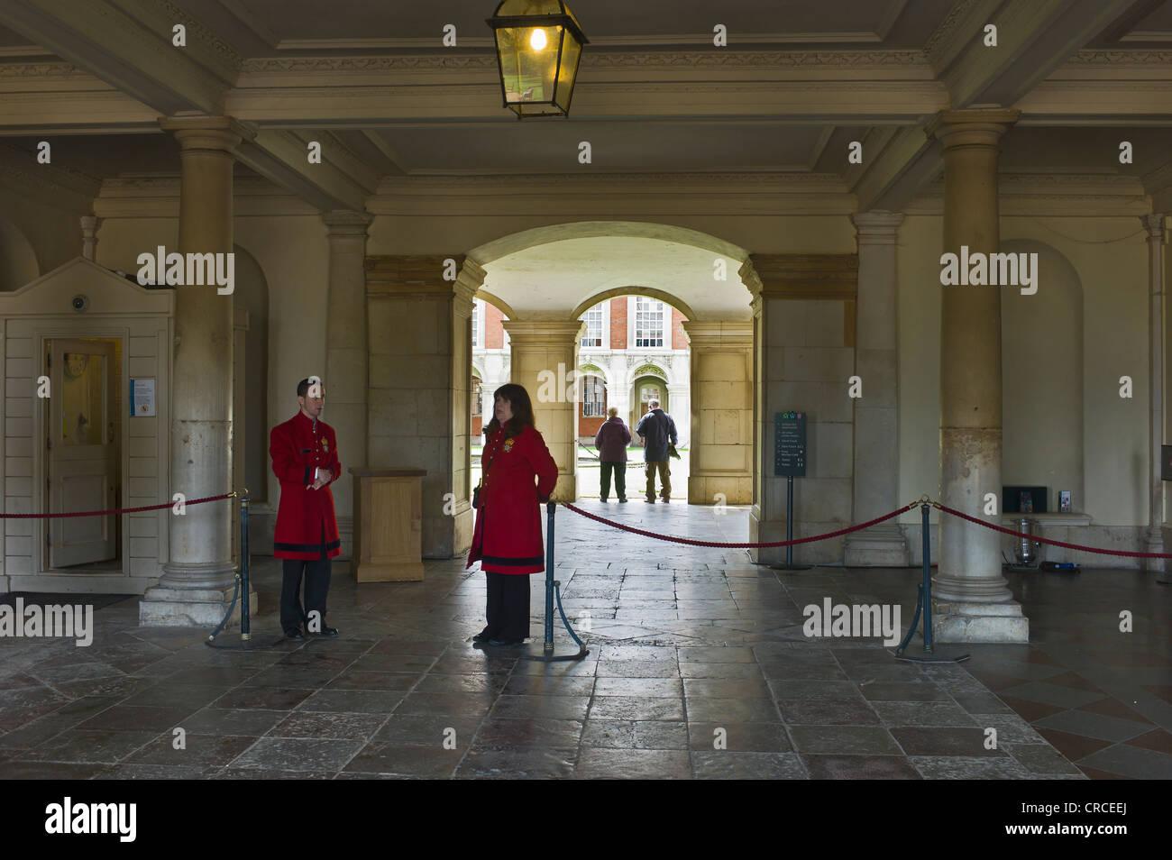 Royal Apartments Hampton Court Palace Stock Photos & Royal ...