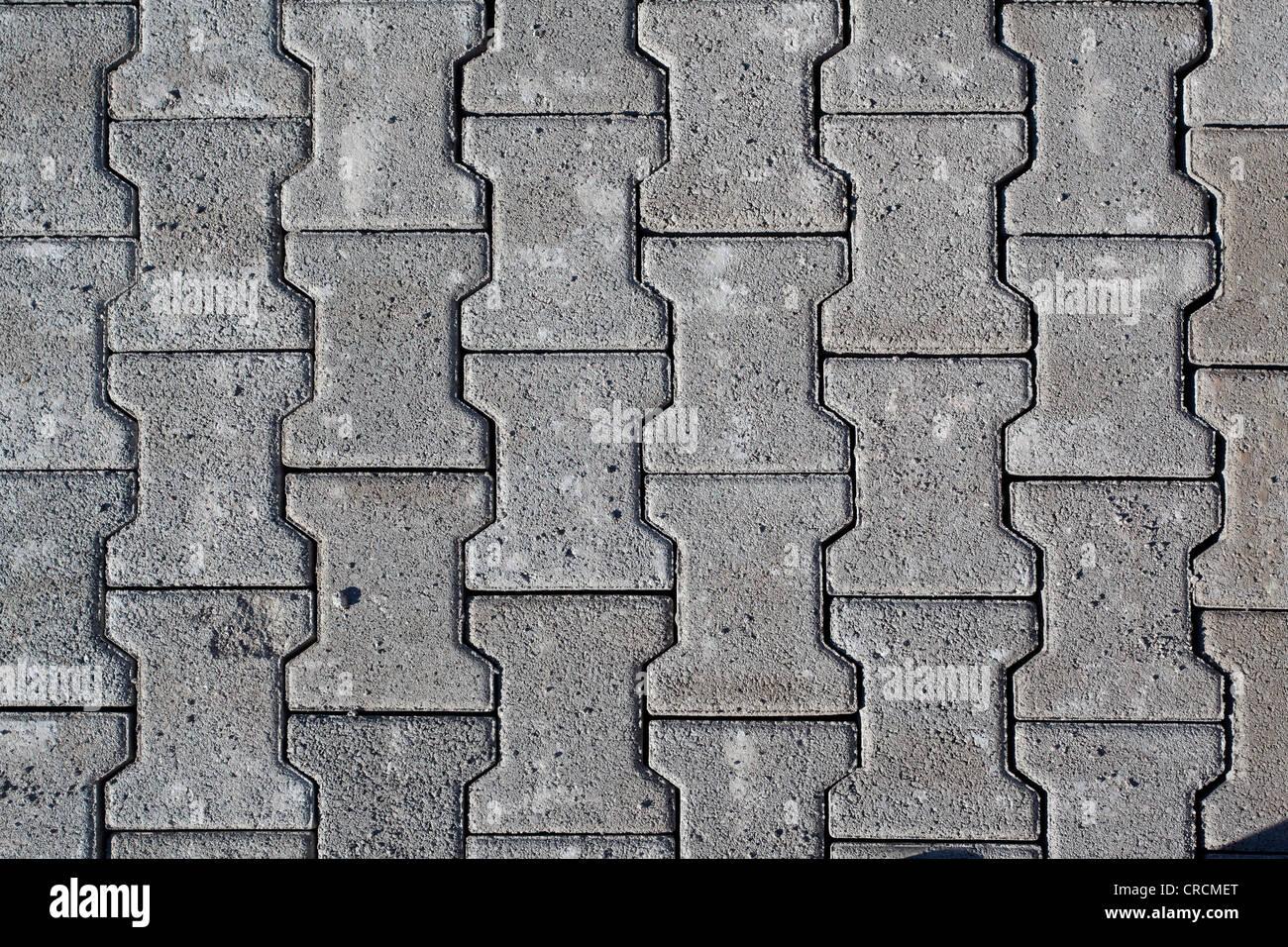 Exterior Concrete Paving Texture