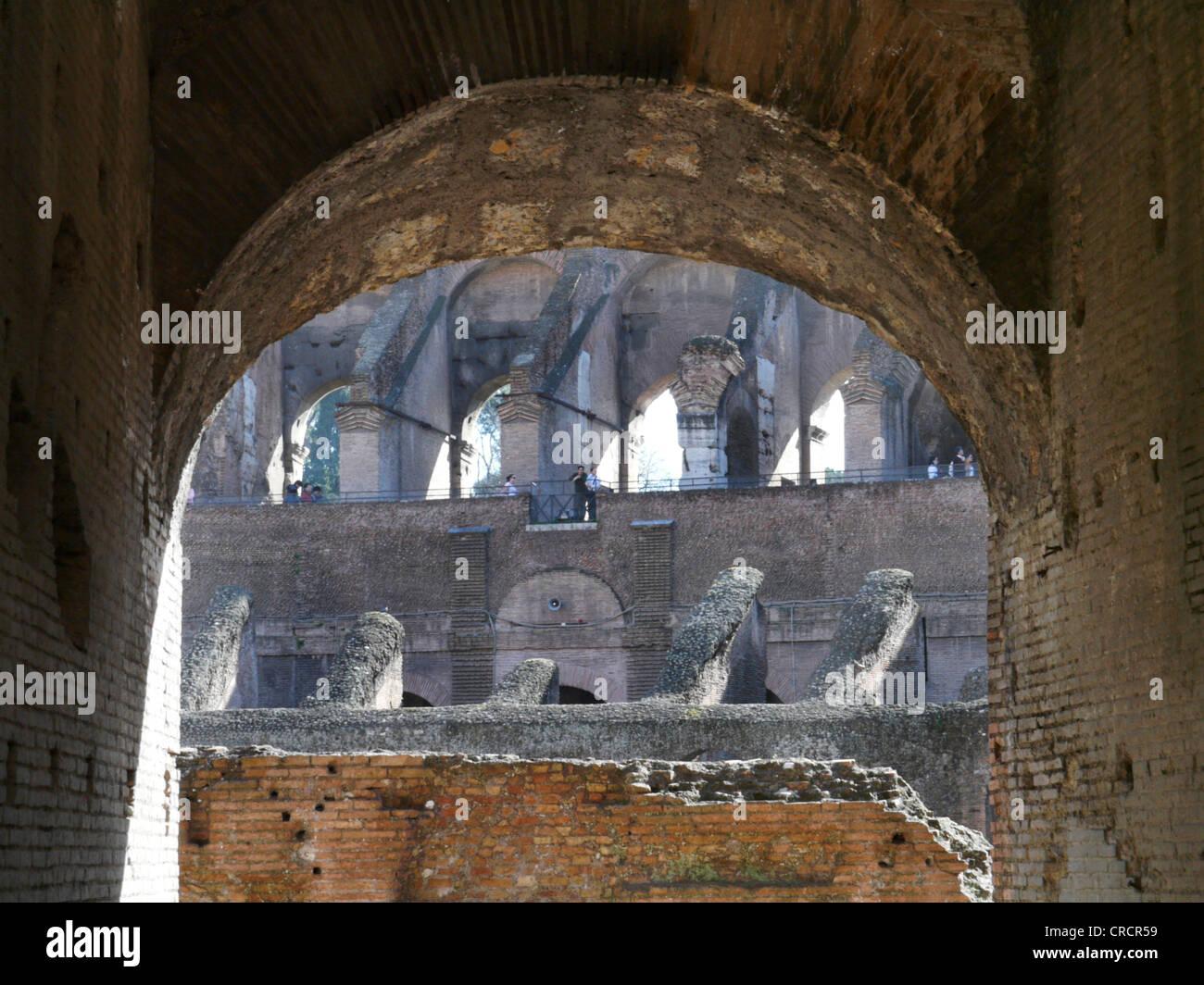 Colosseum in Rom, Italy, Lazio, Rome Stock Photo