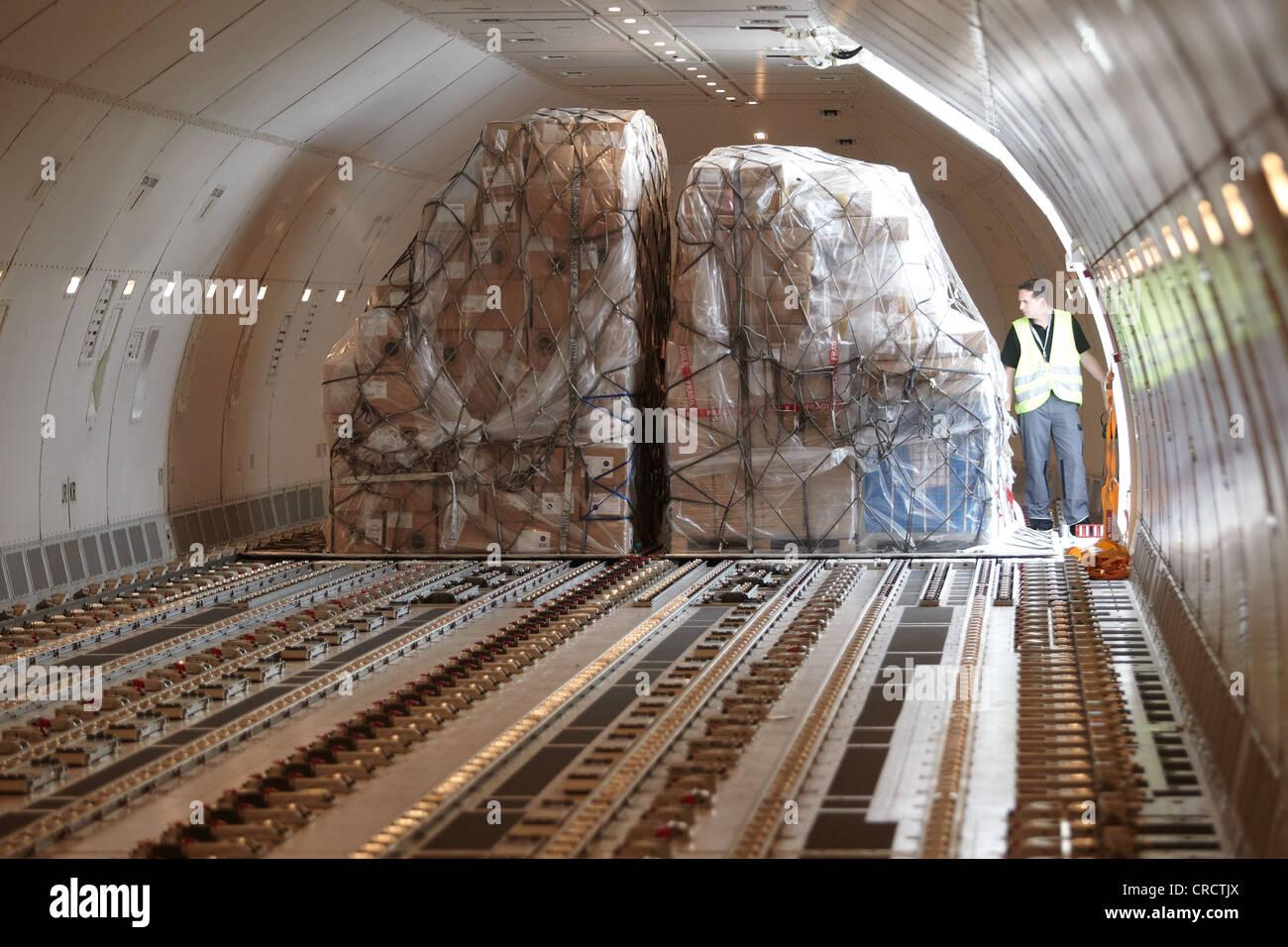 Boeing 777 Cargo Plane At Frankfurt Hahn Airport