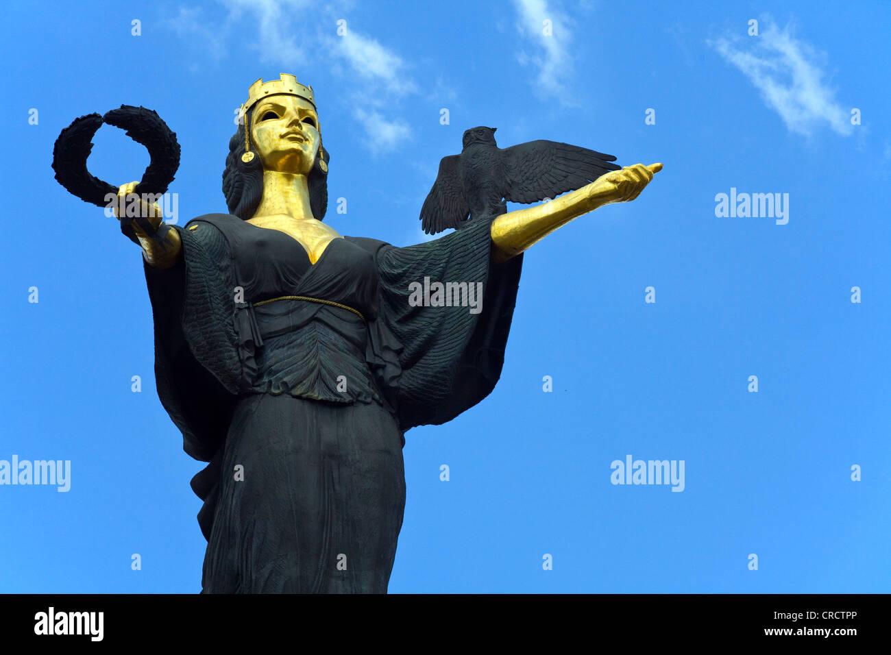 Statue of Sofia by Georgi Chapkanov in sofia, Bulgaria Stock Photo