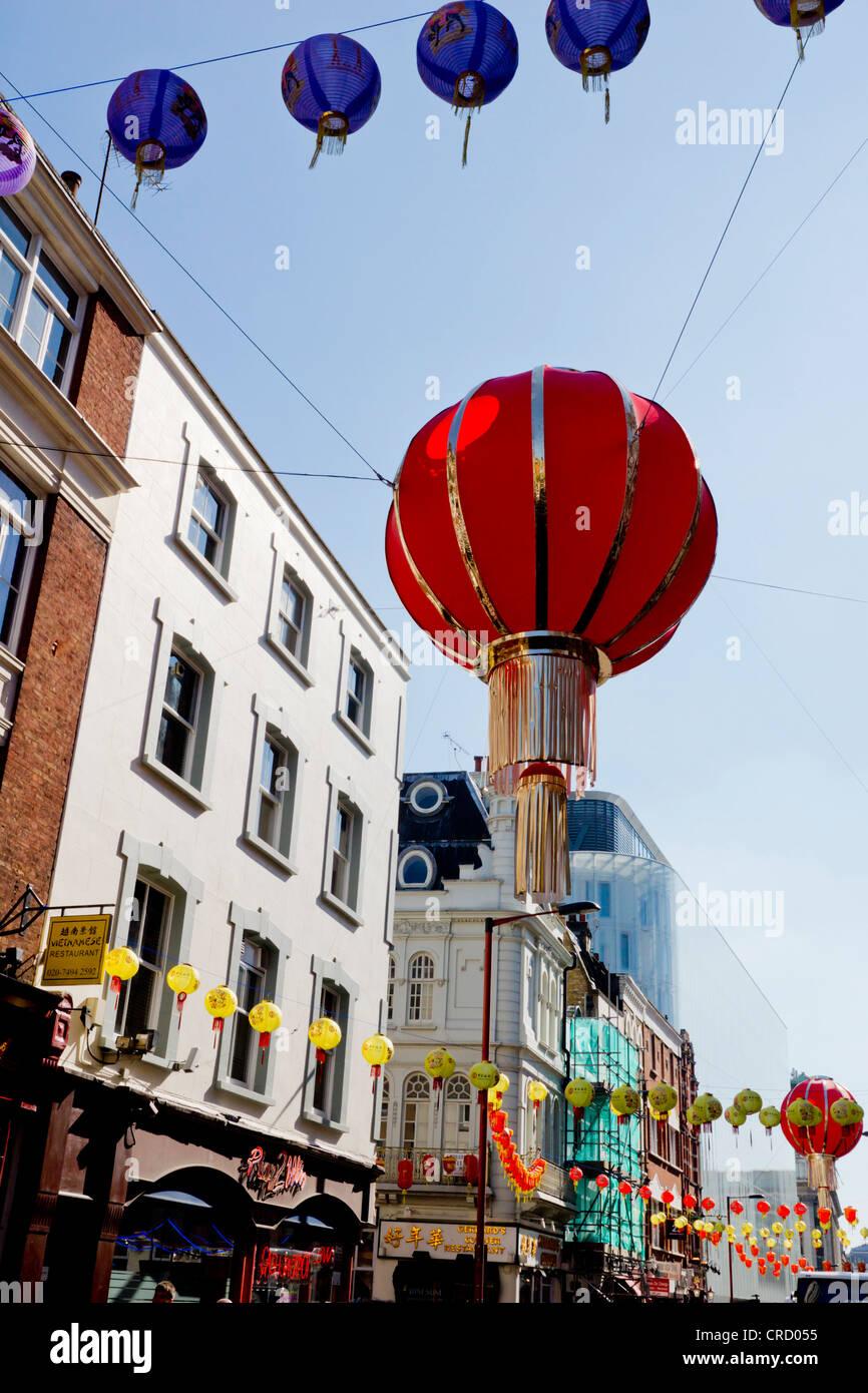 China Town, Soho, London, Westminster, England, UK, Europe - Stock Image