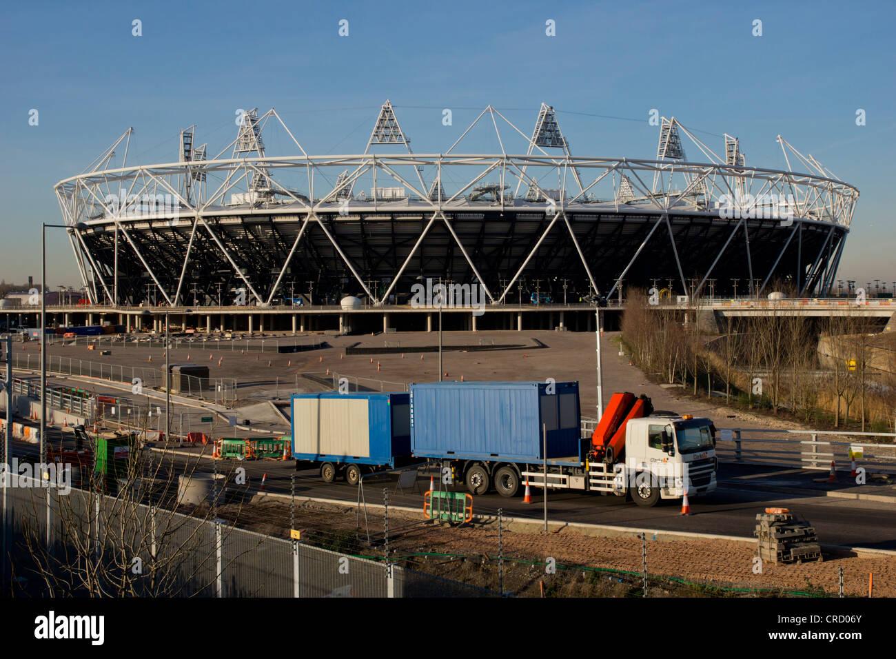 Olympic stadium, Olympic Parc, Stratford, London, England, UK, Europe - Stock Image