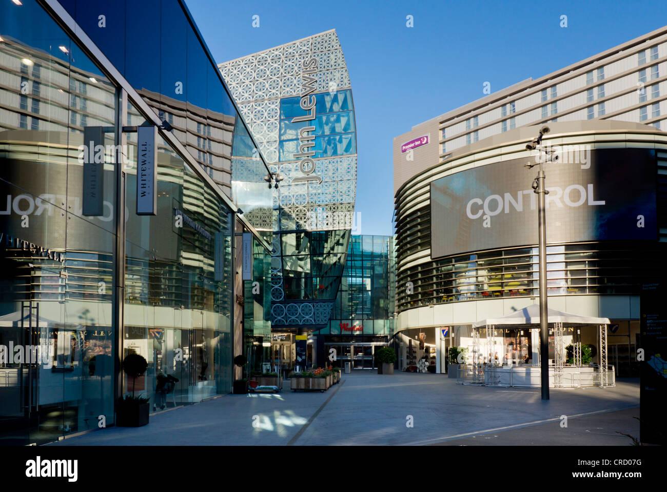 Westfield shopping center, Stratford, Borough of London, London, England, UK, Europe Stock Photo