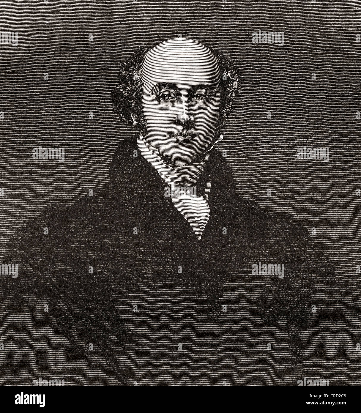 Sir Thomas Lawrence, 1769 – 1830. English portrait painter and president of the Royal Academy. - Stock Image