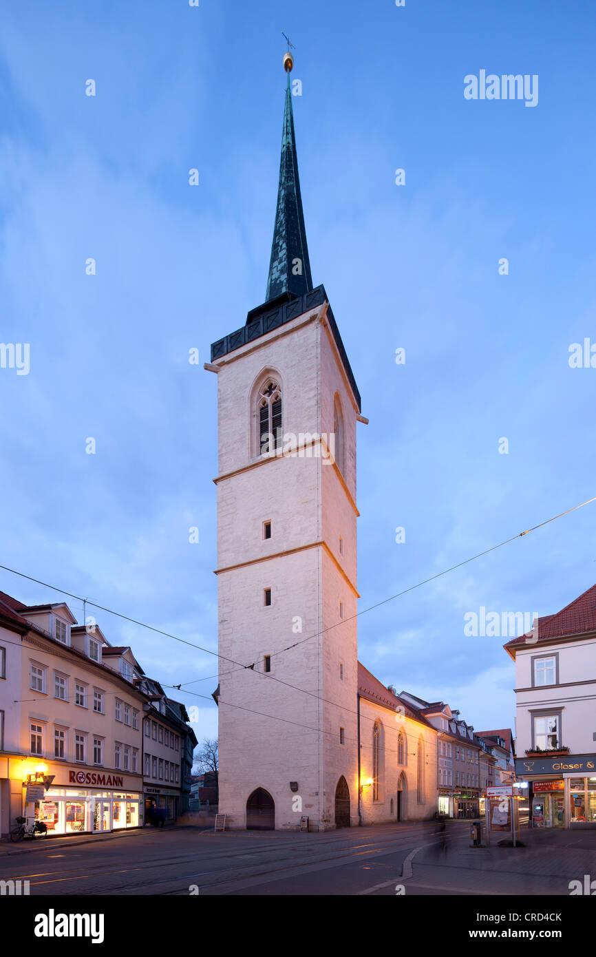 Allerheiligenkirche, All Saints Church, Erfurt, Thuringia, Germany, Europe, PublicGround - Stock Image