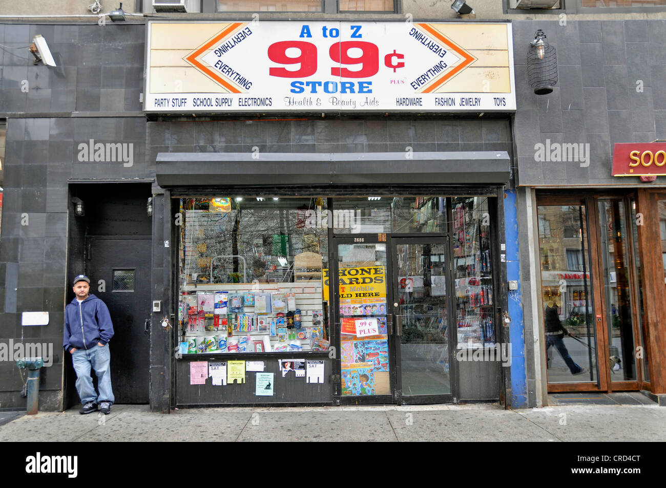 99 Cent Store Bargaine USA New York City Manhattan