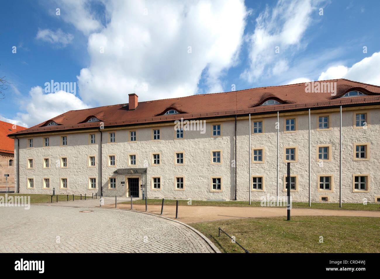 Zitadelle Petersberg citadel, Electorate of Mainz fortress, Baroque town fortress, Erfurt, Thuringia, PublicGround - Stock Image
