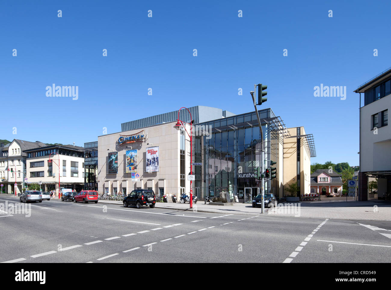 Marburger Kunstverein art society, Cineplex Cinema, Marburg, Hesse, Germany, Europe, PublicGround - Stock Image