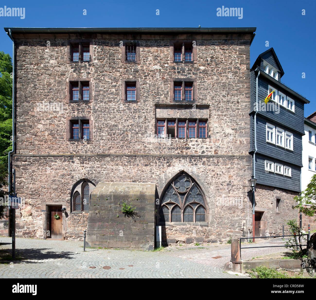 Lutheran Churchyard, ossuary, Marburg, Hesse, Germany, Europe, PublicGround - Stock Image