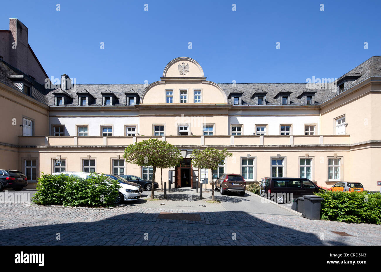 Palace of the President of the Court of Appeal, Wetzlar, Hesse, Germany, Europe, PublicGround - Stock Image
