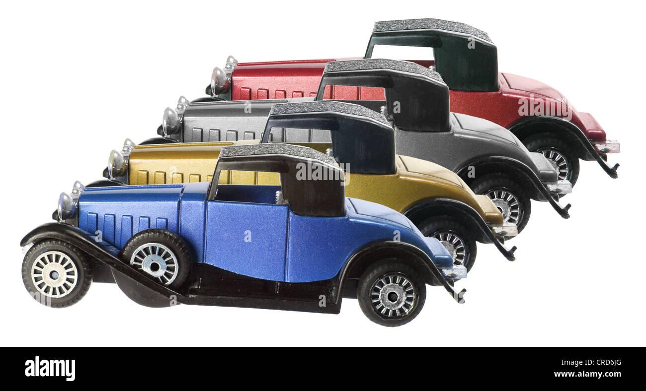 Antique Model Cars - Stock Image