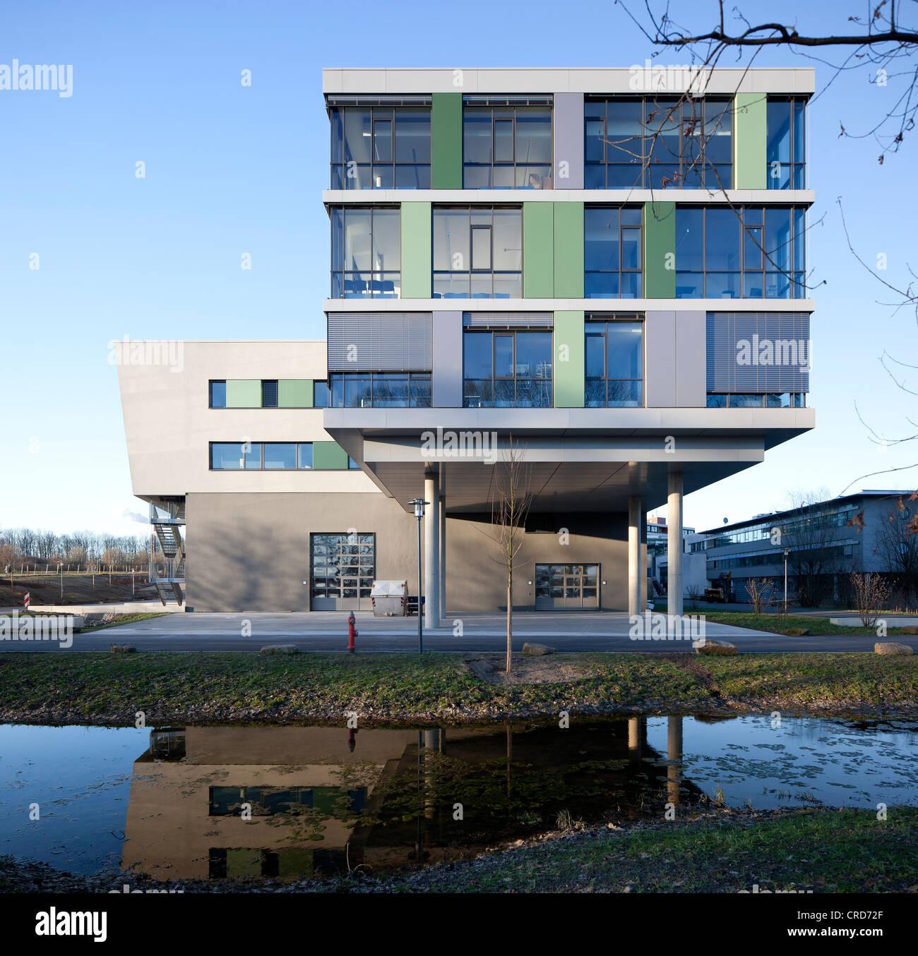 University of Applied Sciences Gelsenkirchen, extension, Gelsenkirchen, Ruhr Area, North Rhine-Westphalia, PublicGround - Stock Image