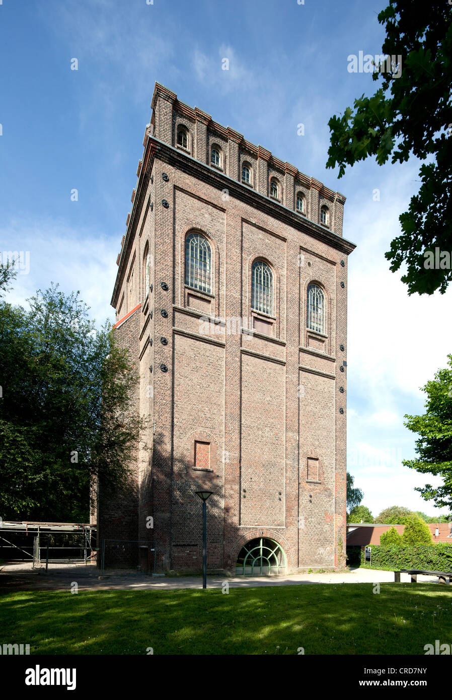 Malakow Tower of the former Julius Philipp Mine, Medicine Historical Collection of the Ruhr-University Bochum, Bochum, - Stock Image