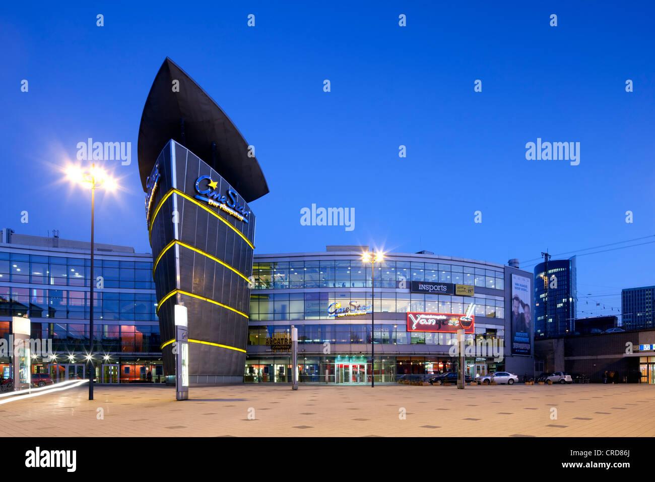 CineStar Cinema, Dortmund, Ruhr Area, North Rhine-Westphalia, Germany, Europe, PublicGround - Stock Image