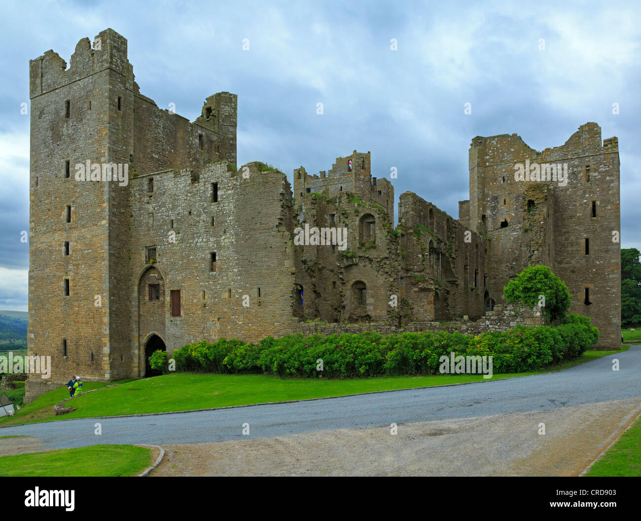 Bolton Castle, Wensleydale, Yorkshire. 14th century castle, still in the hands of the original family. - Stock Image