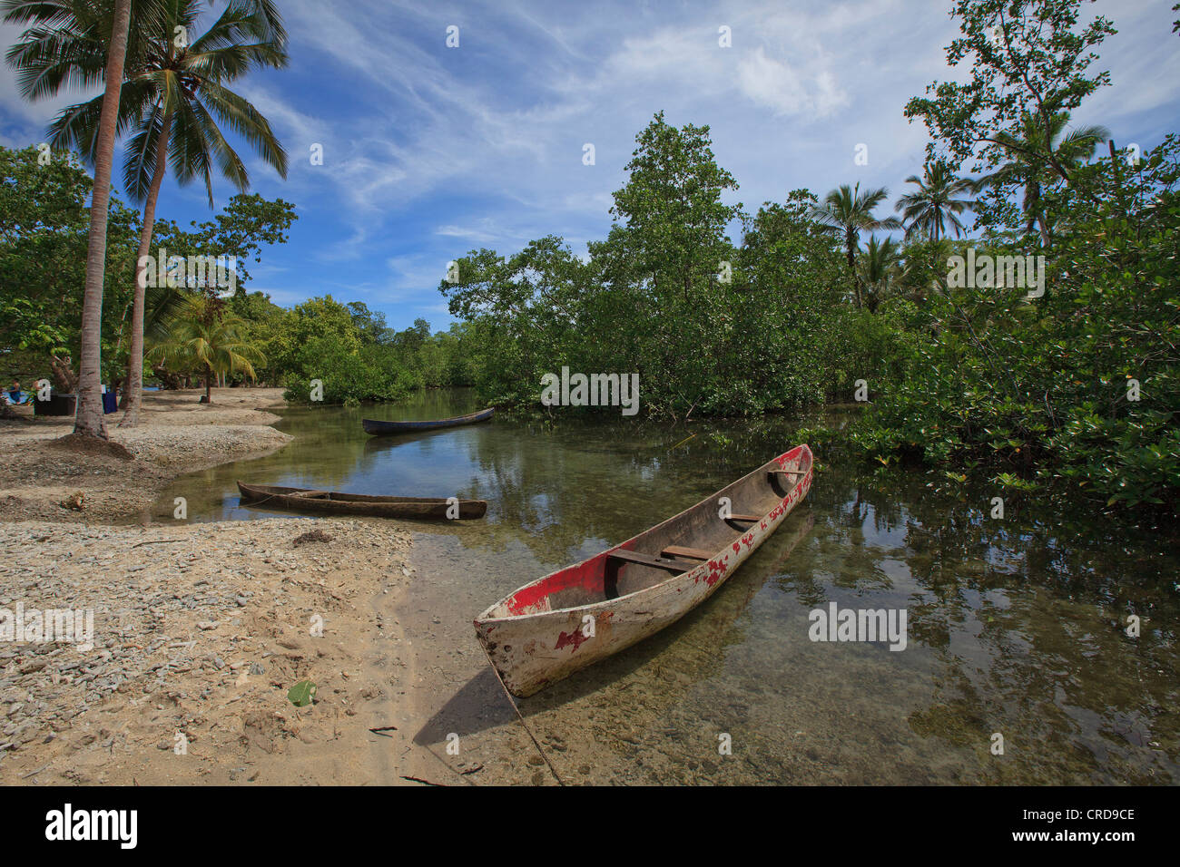 Tomoto Neo, Nendo, Santa Cruz Islands, Solomon Islands, Oceania - Stock Image