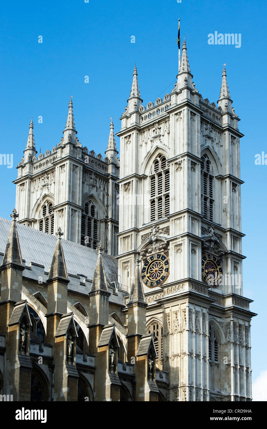 Westminster Abbey. London. England - Stock Image