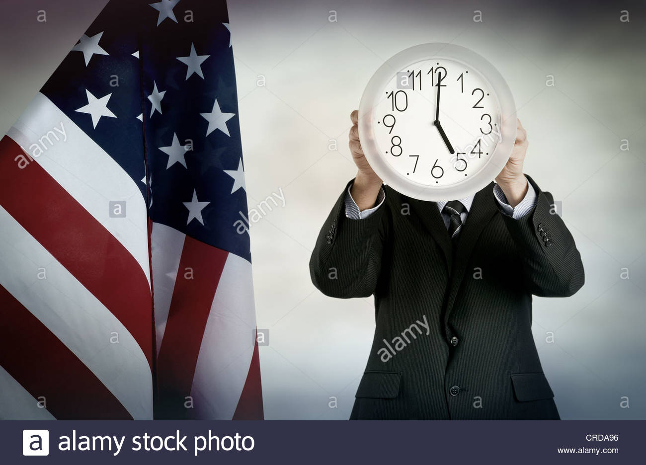 american time - Stock Image