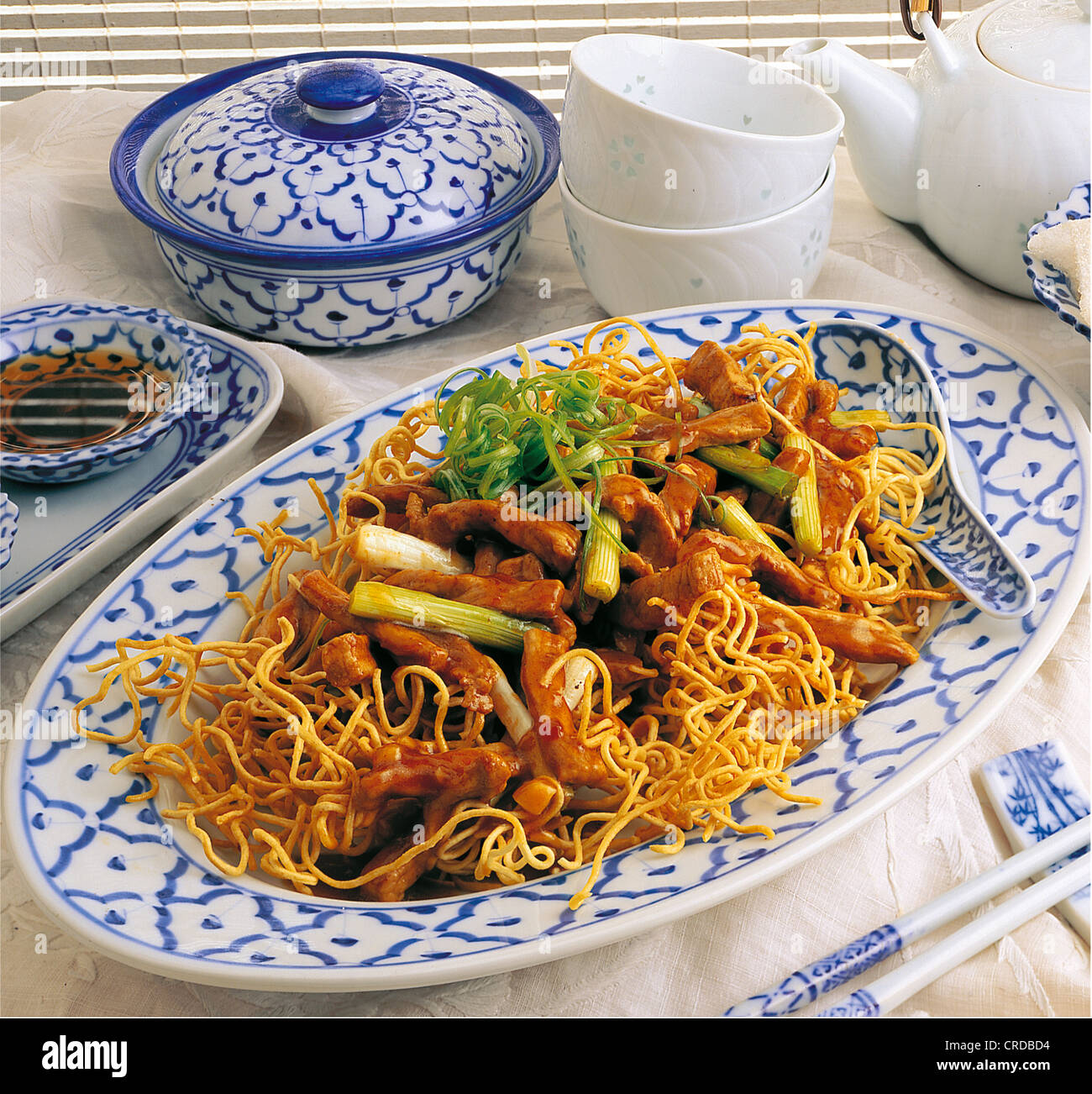 Wok noodles with pork china recipe available for a fee stock photo wok noodles with pork china recipe available for a fee forumfinder Image collections
