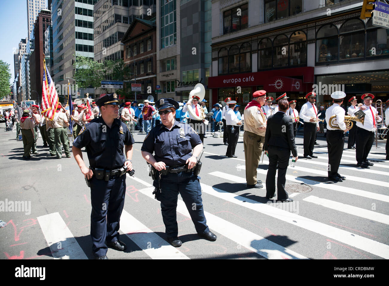 Nypd Band Stock Photos & Nypd Band Stock Images - Alamy