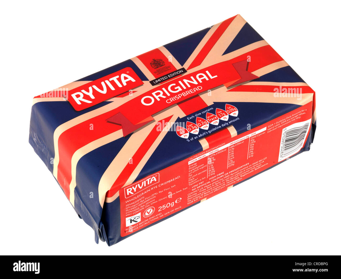 Ryvita Original Crackers - Stock Image