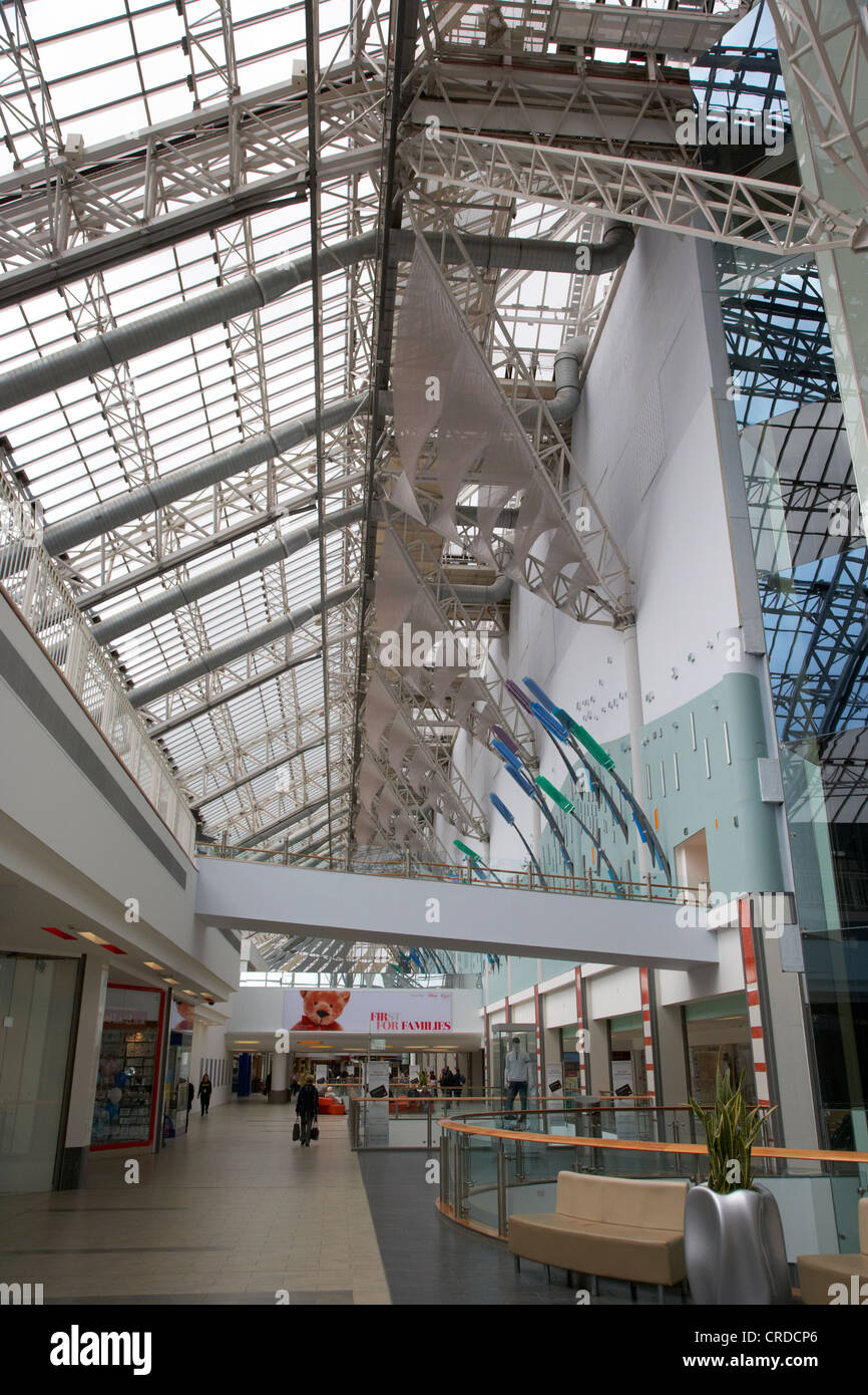 interior of st enochs shopping centre glasgow scotland uk - Stock Image