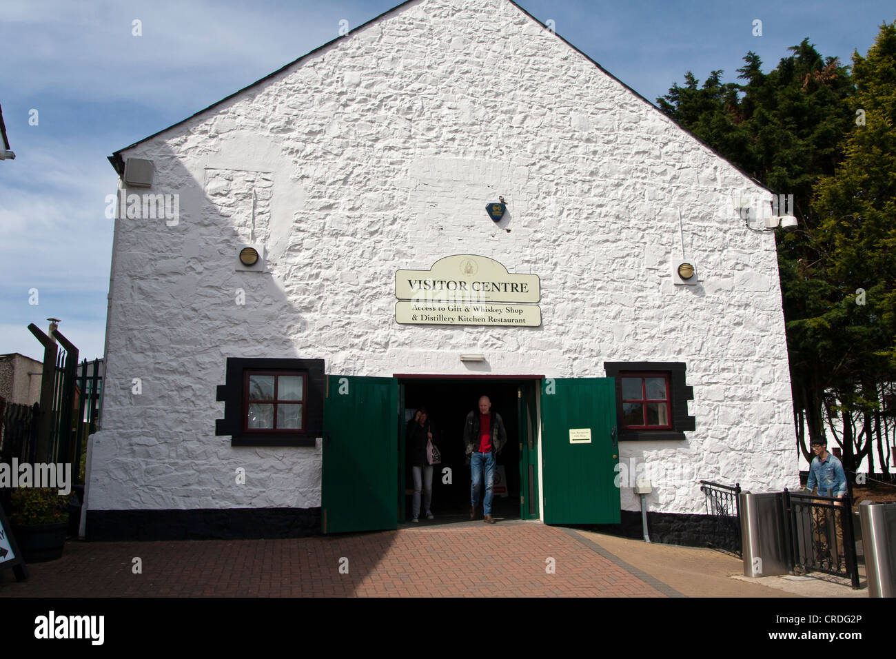 Bushmills distillery visitors centre - Stock Image
