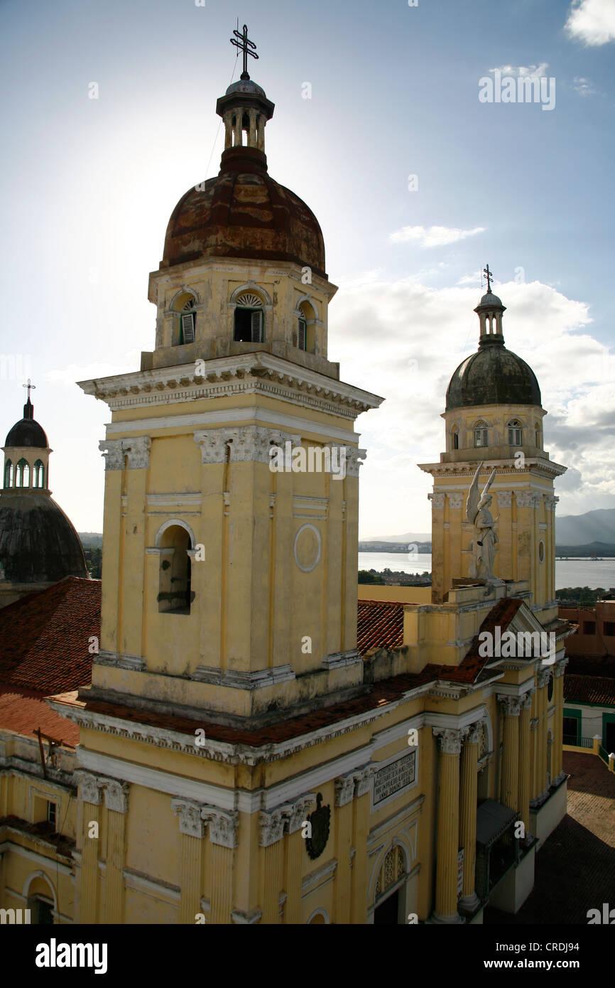 Cathedral of Santiago de Cuba, Cuba, Greater Antilles, Caribbean - Stock Image