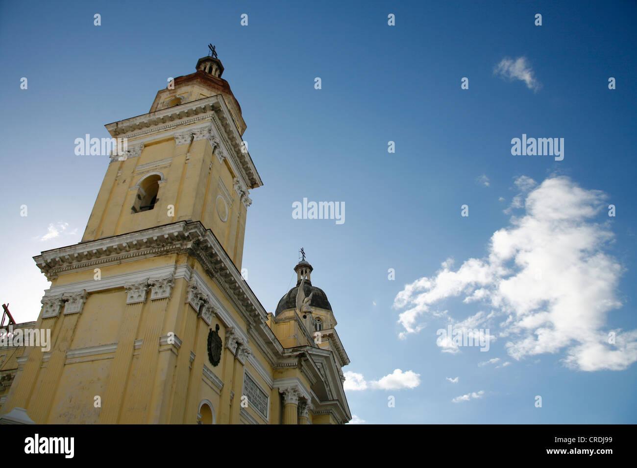 Cathedral of Santiago de Cuba, Cuba, Greater Antilles, Caribbean Stock Photo