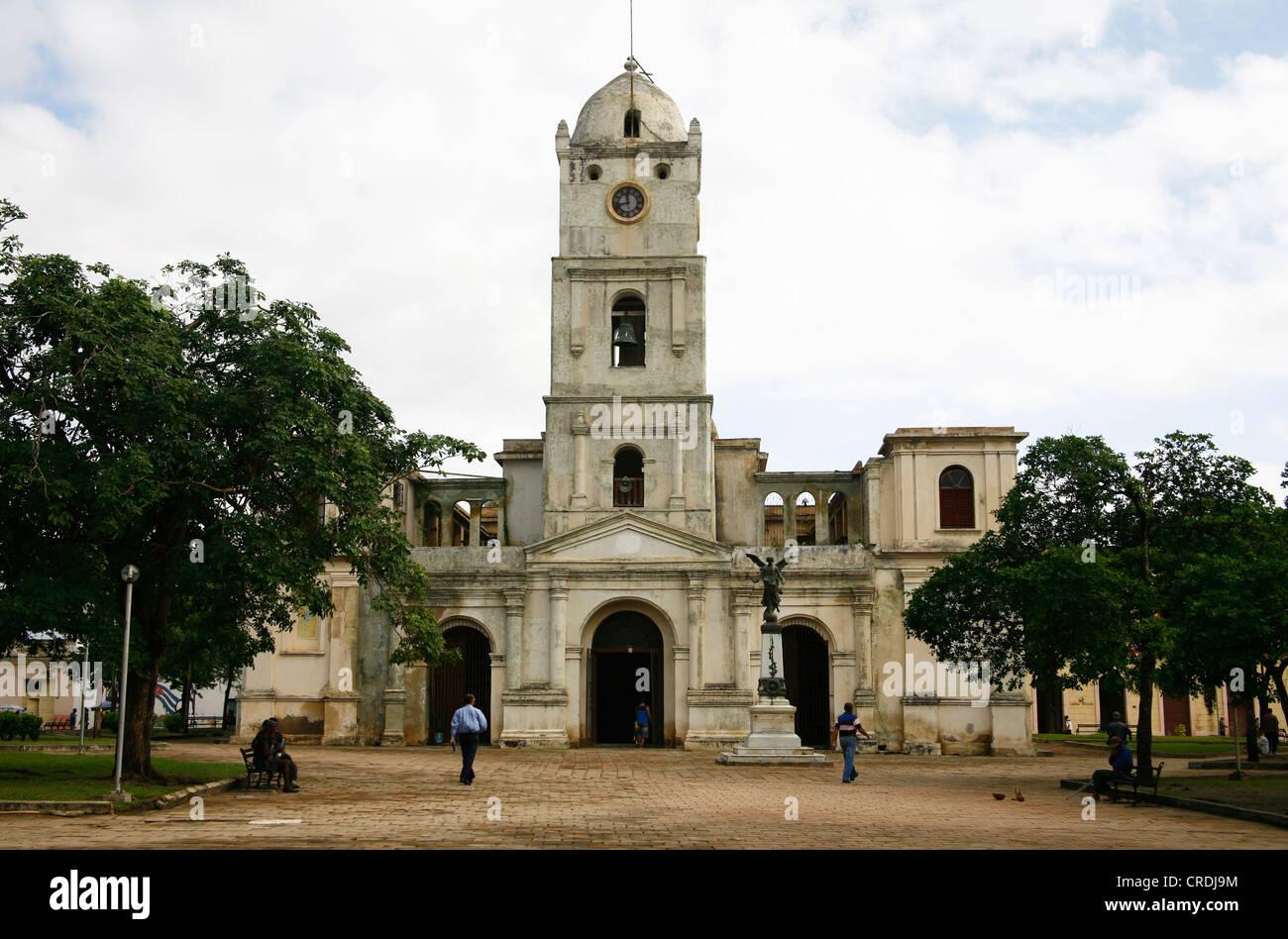 San Jose Church in Holguin, Cuba, Greater Antilles, Caribbean Stock Photo