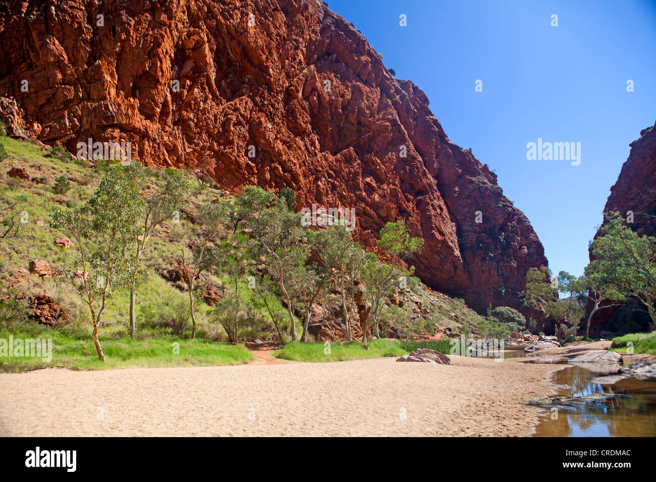 Simpsons Gap in the West MacDonnell Ranges - Stock Image