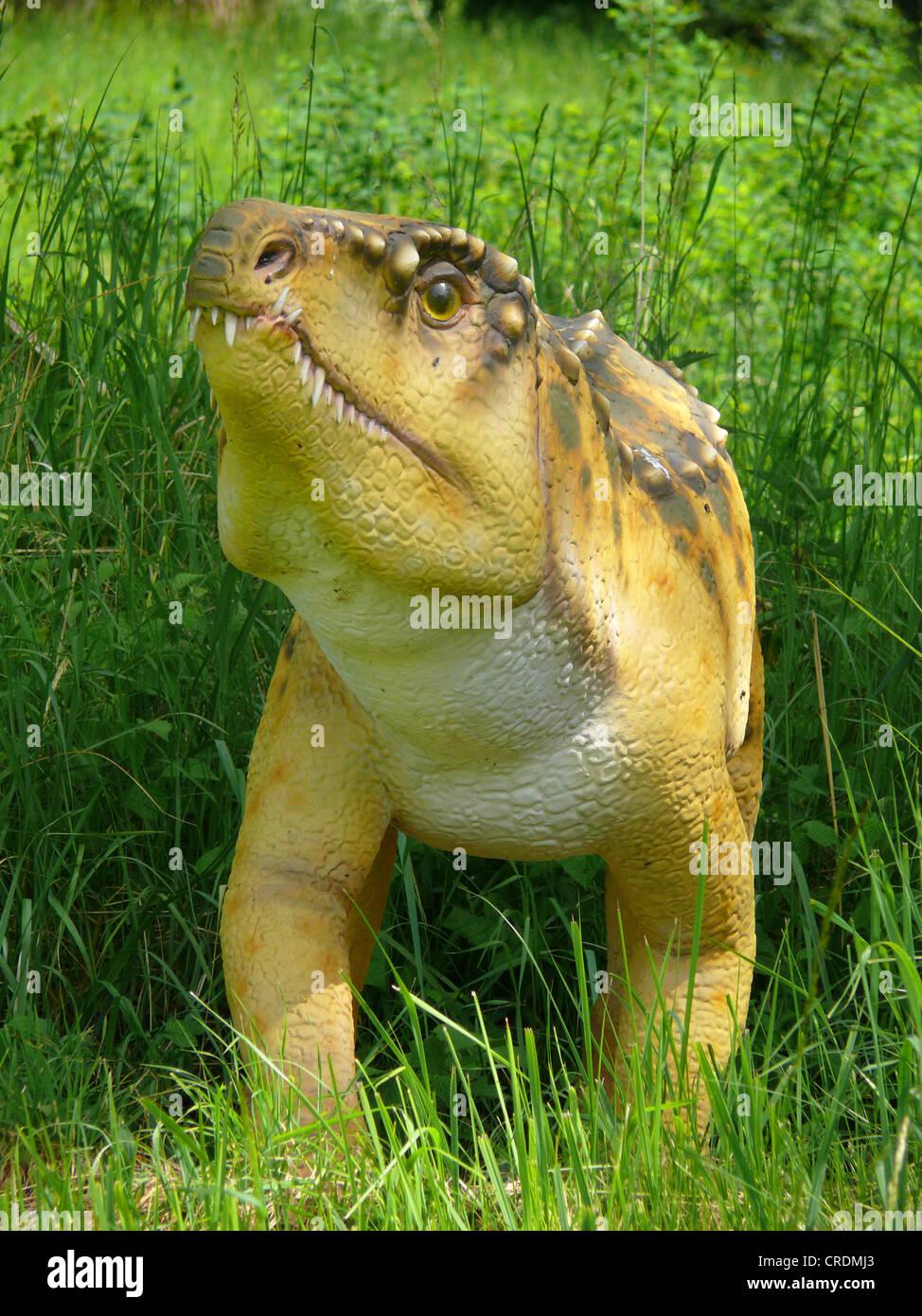 Ornithosuchus (Ornithosuchus), primitive dinosaur - Stock Image