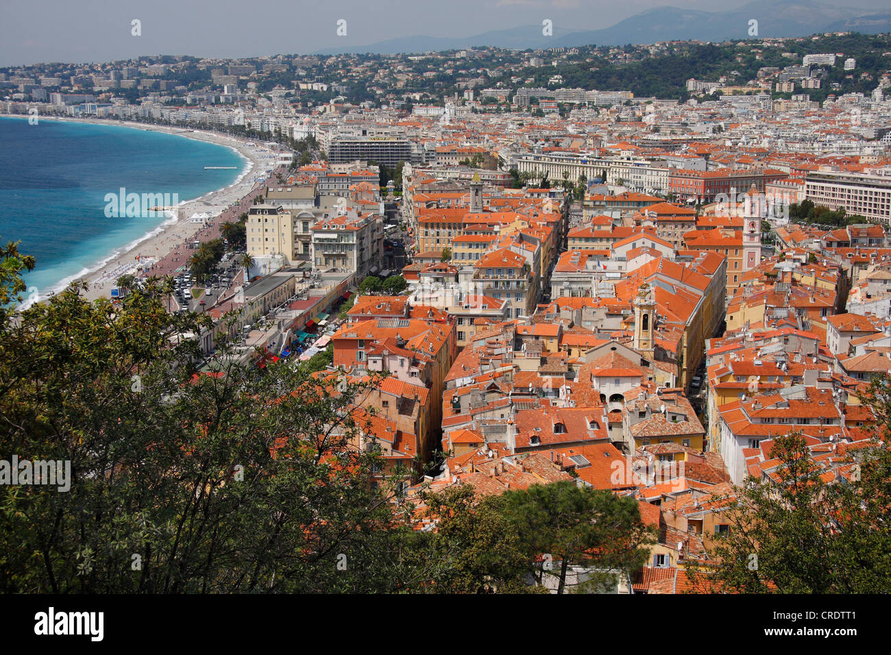 view of Nizza, France - Stock Image