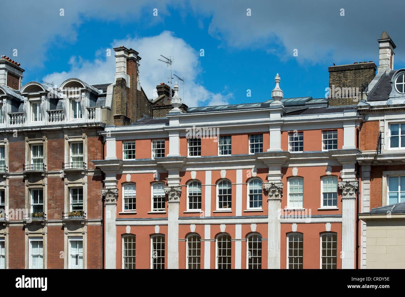Covent garden buildings. London, England - Stock Image