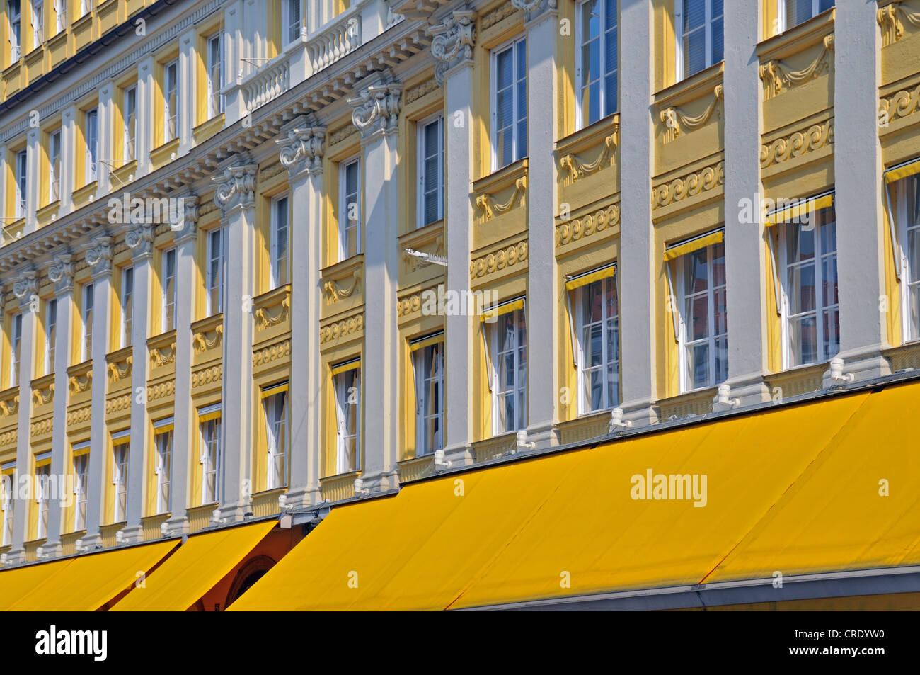Feinkost Dallmayr delicatessen, Dienerstrasse, old town, Lehel quarter, Munich, Bavaria, Germany, Europe - Stock Image