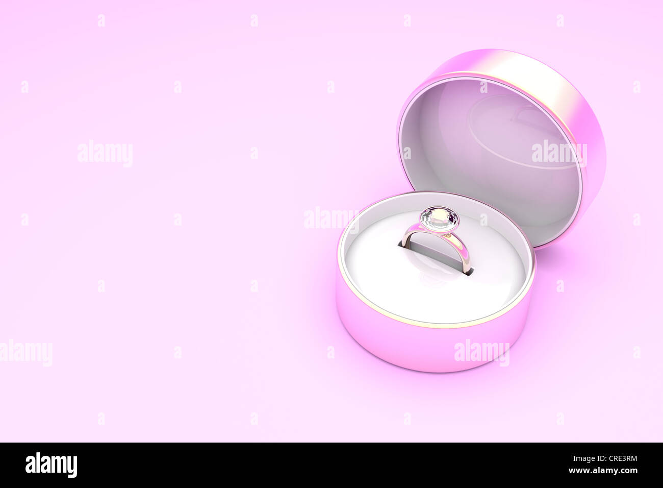 Gold Ring Box Stock Photos & Gold Ring Box Stock Images - Alamy