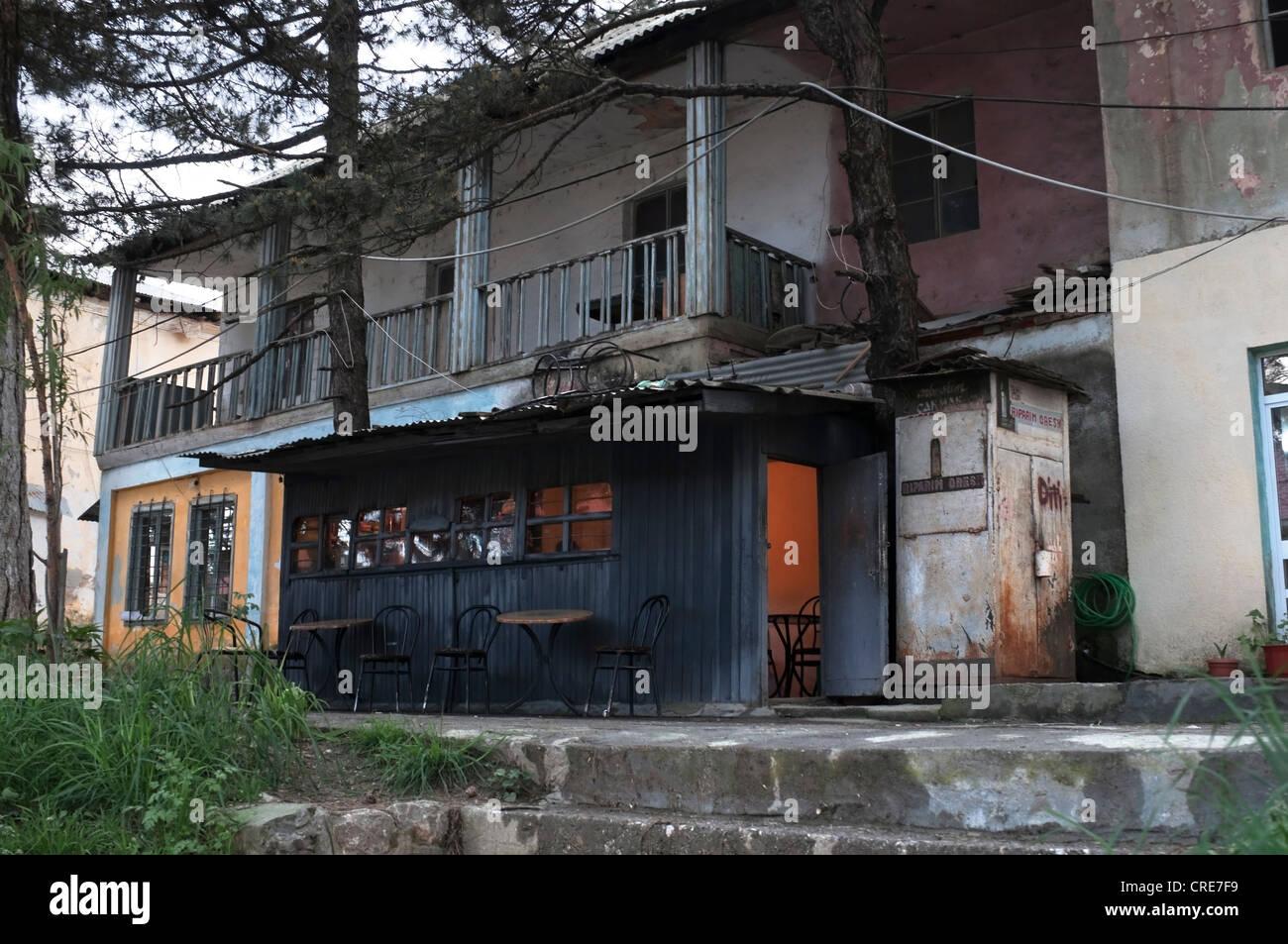 Boozer Shack  in Bajram Curri, Albania - Stock Image