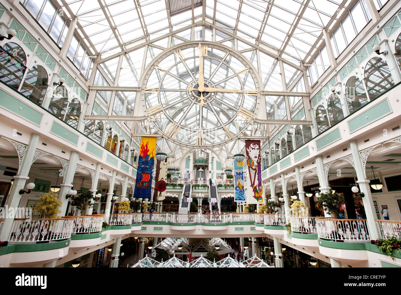 Stephens Green Shopping Centre, Dublin, Ireland, Europe - Stock Image