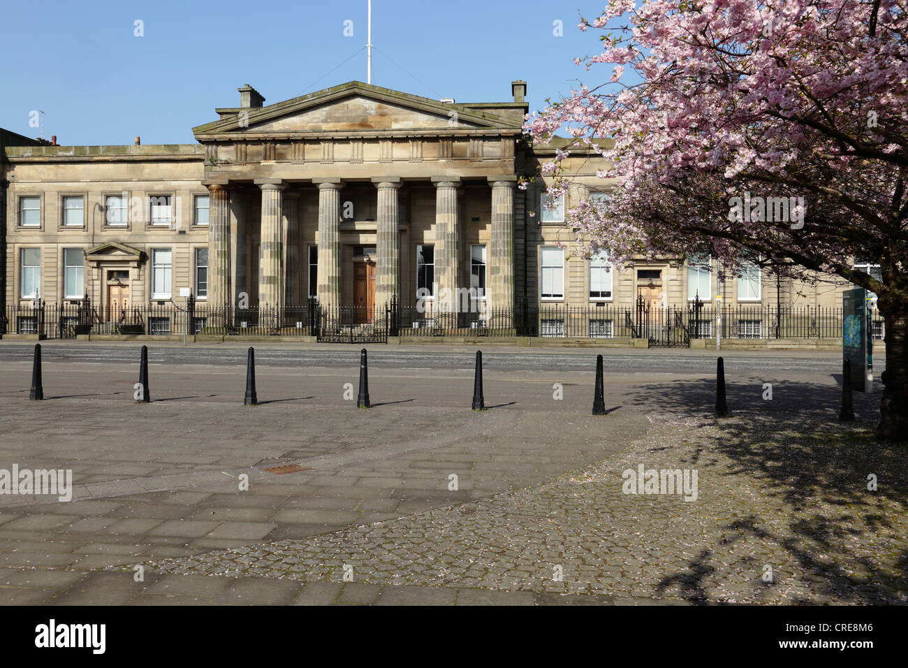 Glasgow Old High Court on Saltmarket in Spring, Scotland, UK - Stock Image