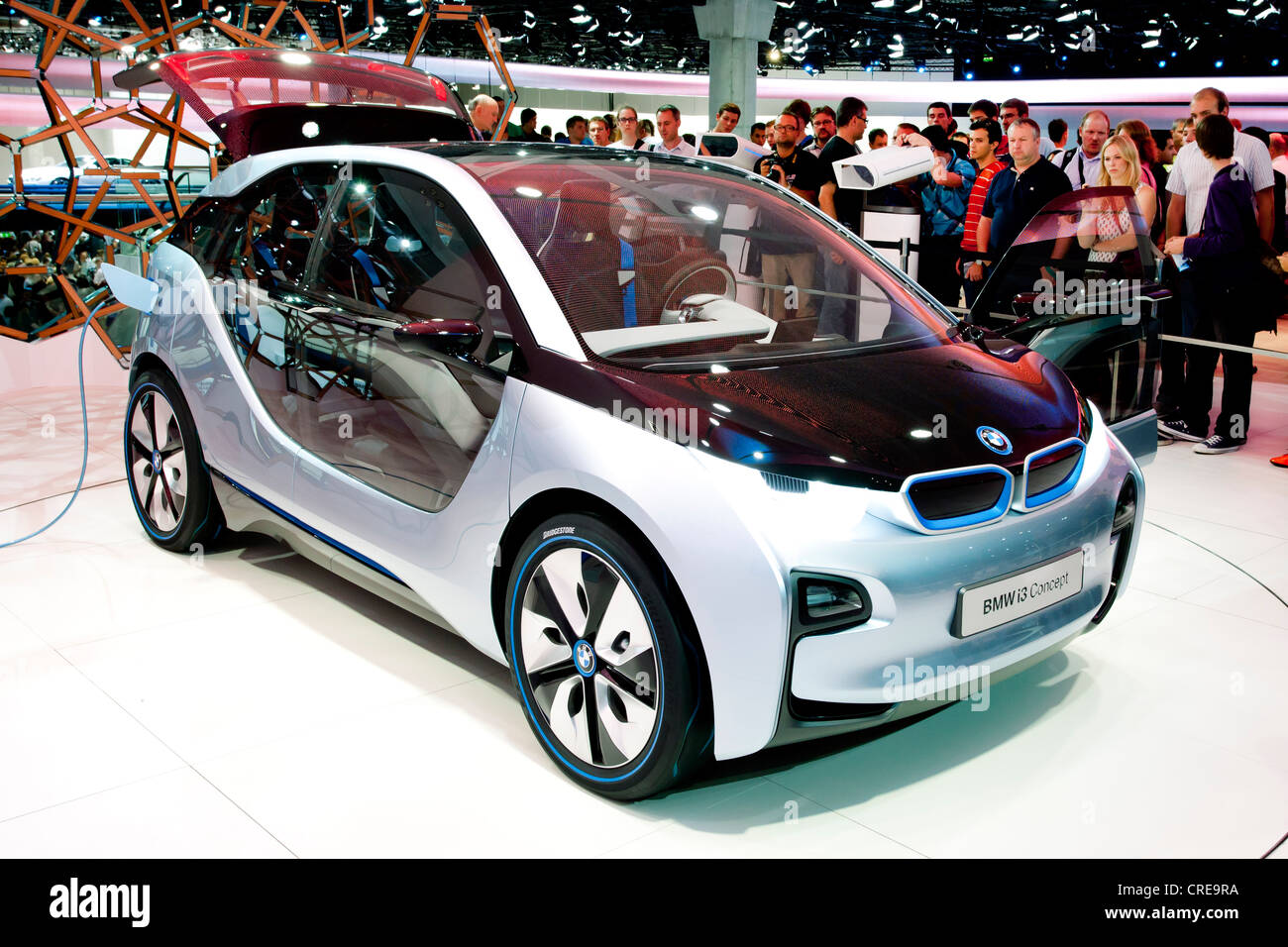 Study of the BMW i3 concept, electric car, BMW AG, 64th ...